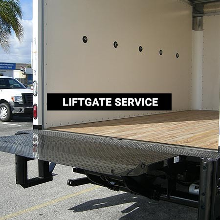 Liftgate Service for Pibbs Freight Deliveries