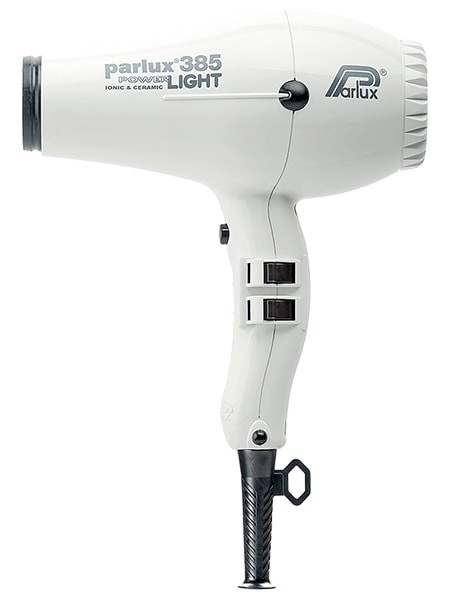 Parlux 385 PowerLight Ionic and Ceramic Professional Hair Dryer White