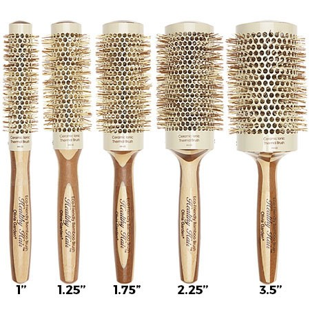 Olivia Garden Healthy Ceramic Ionic Thermal Hair Brush Free