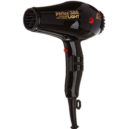Parlux 385 Powerlight Ionic And Ceramic Hair Dryer Black