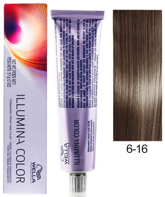 Wella Professionals Illumina Permanent Hair Color 6 16