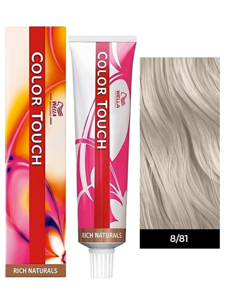 Wella color touch blonde toner