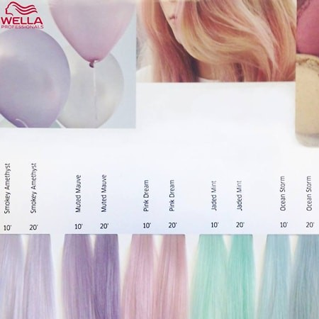 Wella Demi Permanent Hair Color Chart Best Hair Color 2017