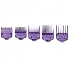 Andis Small Nano- Silver Double Magnetic Comb Set (5 Pcs) - 01410