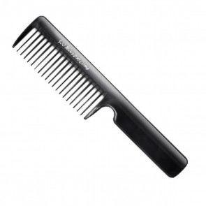 "Beuy Pro Styling Comb Black W/Handle 8 1/4"" #500"