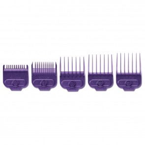 Andis Small Nano-Powerful Silver Magnetic Comb Set (5 Pcs) - 663451