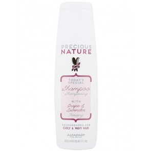 Alfaparf Precious Nature Grape and Lavender Curly & Wavy Hair Shampoo - 250ml
