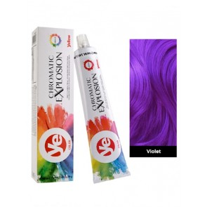 Alfaparf Yellow Hair Color Chromatic Explosion Vibrants - Violet