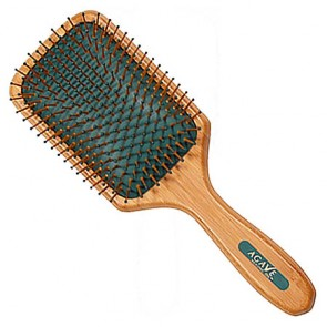 Agave Healing Oil iBrush Bamboo Brush Paddle