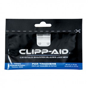 Clipp-Aid Trimmer Blade Sharpener, Blue