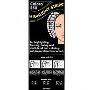 "Colora 250 Balayage Highlight Strips, Long 4 x 10"", 250 Strips"