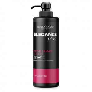 Elegance Plus After Shave Lotion for Men 500ml 17.6oz Pink Green & Blue