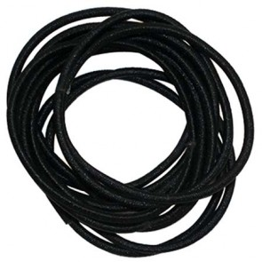 Gold Magic Black Elastic Rubberbands