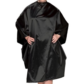 Olivia Garden Charm All Purpose Chemical Cape - Black - CR-C1
