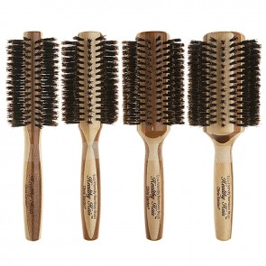 Olivia Garden Healthy Natural Boar Bristle Styling Hair Brush