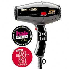 Parlux 3500 SuperCompact Professional Hair Dryer Black