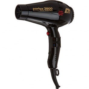 Parlux 3800 Ionic and Ceramic Professional Hair Dryer Black