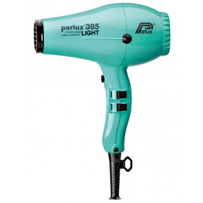 Parlux 385 PowerLight Hair Dryer Emerald Blue