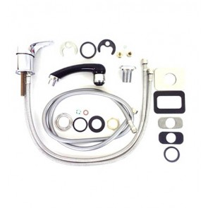 Pibbs Faucet Kit with Spray Hose