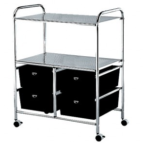 Pibbs Utility Cart 4 Drawers - D4B