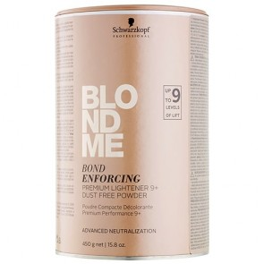 Schwarzkopf BlondMe Bond Enforcing Premium Lightener 9+ Dust Free Powder 450g