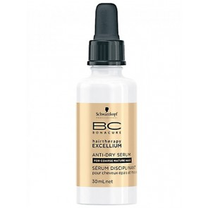 Schwarzkopf Bonacure Excellium Anti-dry Serum for Coarse Mature Hair 1.01oz
