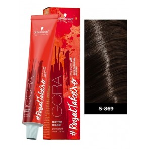 Schwarzkopf Igora Royal #ColorTakeOver Dusted Rouge Permanent Hair Color