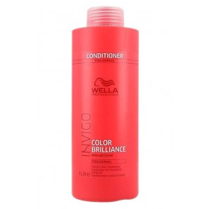Wella Invigo Brilliance Color Protection Conditioner for Fine and Normal Hair - 33.8 oz