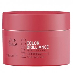 Wella Invigo Brilliance Treatment Mask for Fine and Normal Hair - 5.07 oz