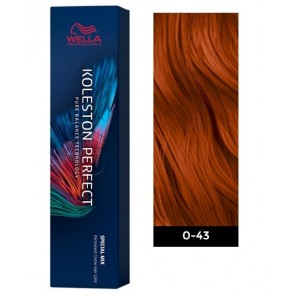 Wella Koleston Perfect ME+ Permanent Hair Color - 0/43 Red Gold