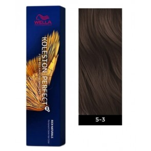 Wella Koleston Perfect ME+ Permanent Hair Color - 5/3 Light Brown/Gold