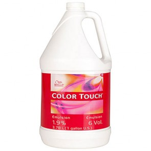 Wella Professionals Color Touch Emulsion 6 Volume (1.9%) Emulsion Gallon