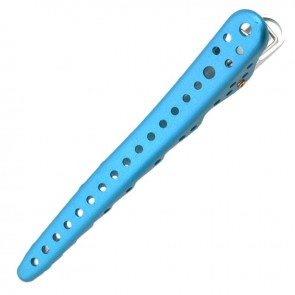 YS Park Shark Clip - Light Blue Metal