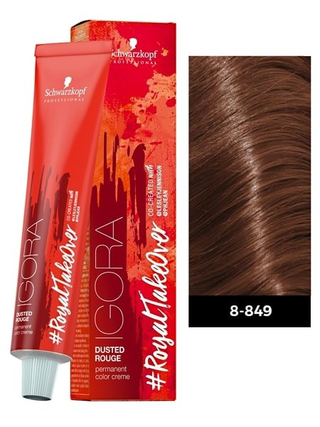 Schwarzkopf Igora Royal Colortakeover Dusted Rouge Permanent