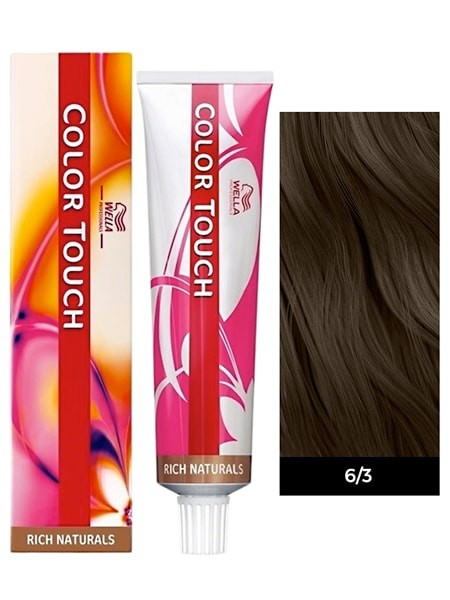 Wella Color Touch Demi-Permanent Hair Color - 6/3 Dark Blonde/Gold