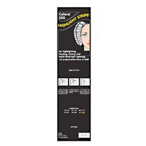 "Colora 250 Balayage Highlight Strips, Extra Long 4 x 16"", 250 Strips"