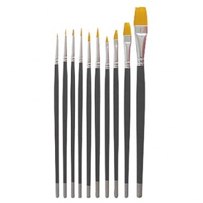 Debra Lynn Pro Nail Art Brush Set 10pc