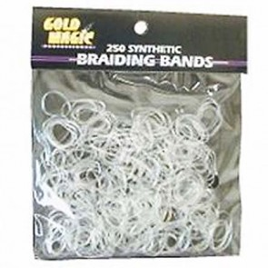 Gold Magic Clear Rubber Bands