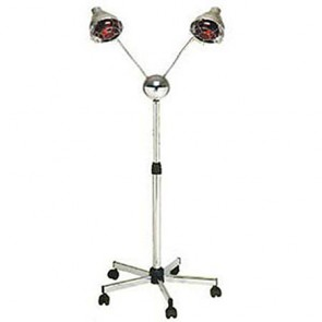 Pibbs Lamp 2 Headed Deluxe Base And Chrome Arms Dl957