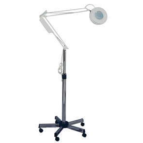 Pibbs Magnifying Lamp Caster 5 Diopter 2010C