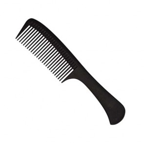 "Salon Chic 8.75"" Rake Carbon Comb"