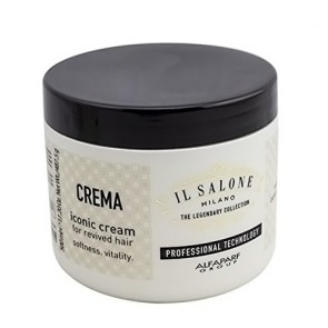 Alfaparf Il Salone Milano - The Legendary Collection - Iconic Cream for Revived Hair - 500 mL (17.20 oz)