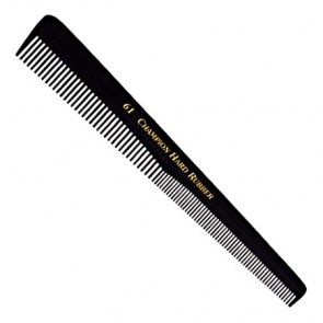 Champion 61 Hard Rubber Barber Comb